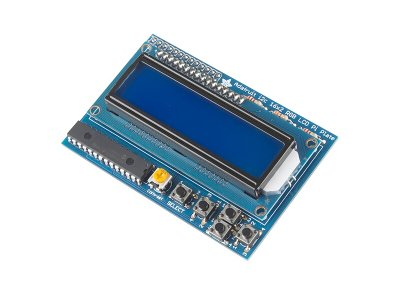 Display LCD 16x2 con botones para Raspberry Pi