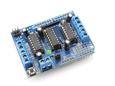 Four Channel L293 Motor Shield For Arduino