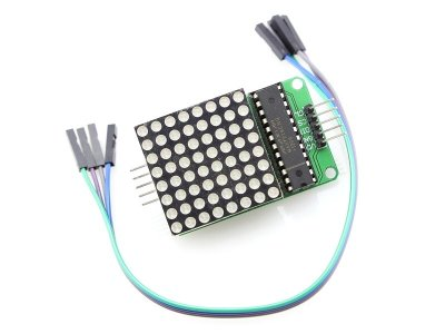 Matriz Led 8x8 Rojo 32mm MAX7219 para Arduino