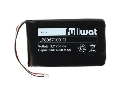Lithium Ion polymer Batteries 6A