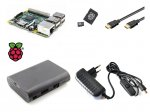 Kit Raspberry Pi 3 B+ with Box, Wall Adapter, MicroSD, HDMI