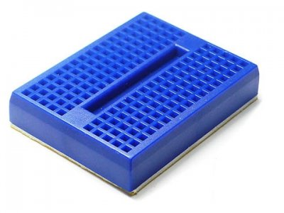 Mini Bread Board 170 Pin Blue
