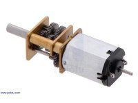 1000:1 Micro Metal Gearmotor HP 6V with Extended Motor Shaft